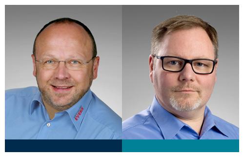 Norbert Pipgras und Lars Evers, Geschäftsführer Druckluft EVERS GmbH