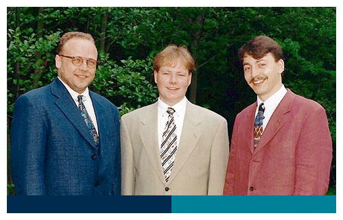 v.l. Norbert Pipgras, Lars Evers, Martin Köhler
