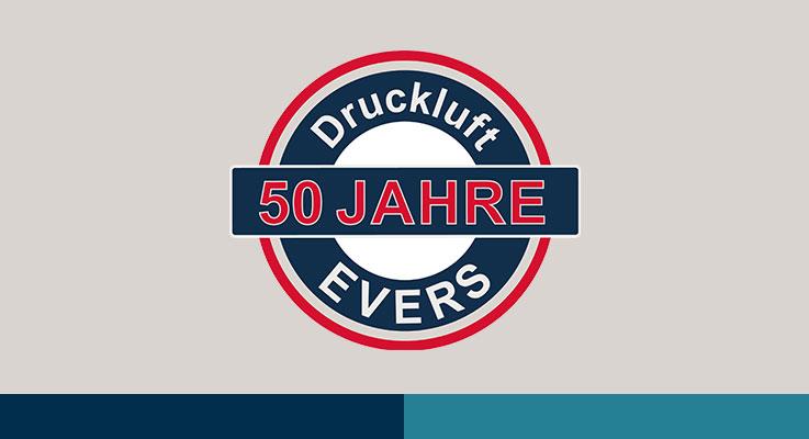 50 Jahre - Druckluft EVERS