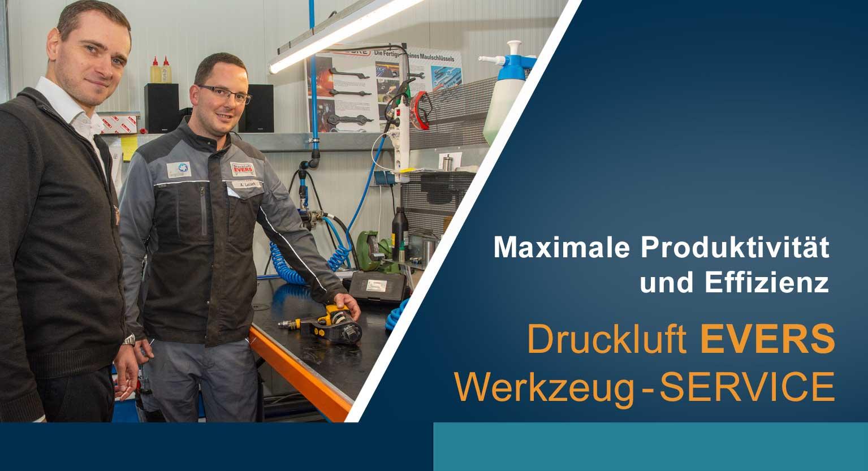 Druckluft EVERS Werkzeug SERVICE