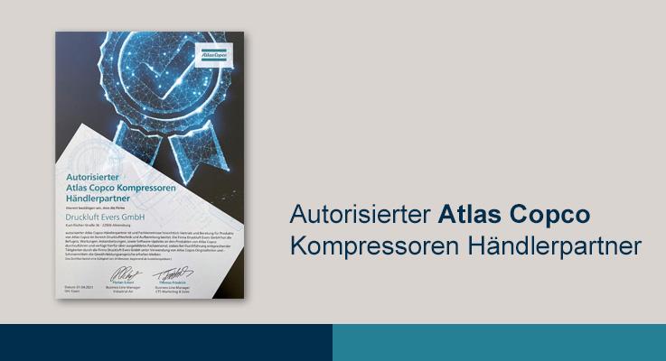 Autorisierter Atlas Copco Kompressoren Händlerpartner