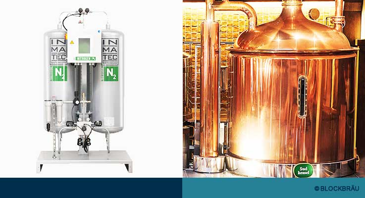 BLOCKBRÄU – Stickstoffproduktion vor Ort