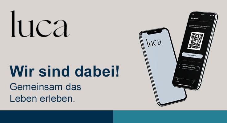 Luca App – Wir sind dabei!